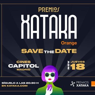 Premios Xataka Orange 2021: reserva el 18 de noviembre para una gala repleta de sorpresas con Joaquín Reyes