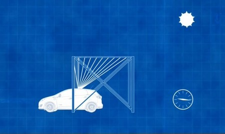 Ford S-Max Solar Energi Concept Pérgola Solar 01