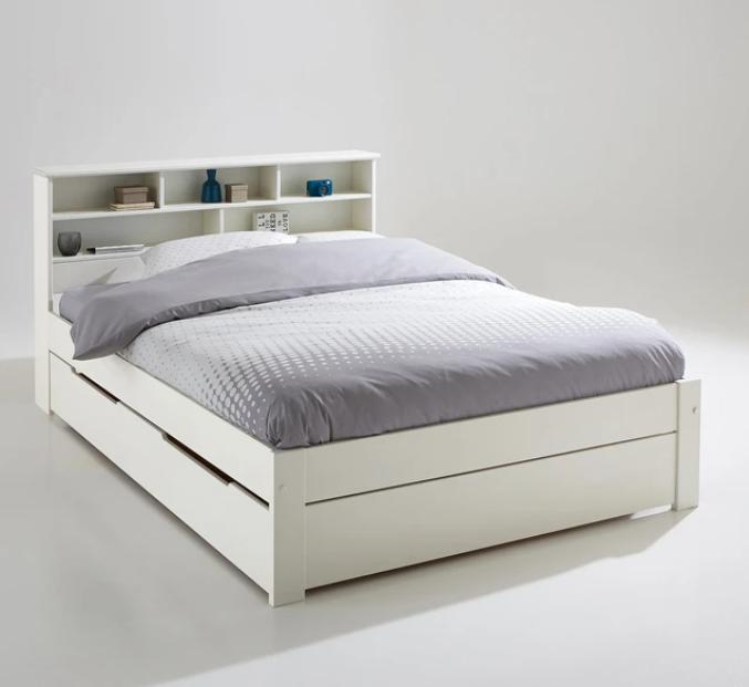 Conjunto de cama, cabecero de cama y somier Nikkö