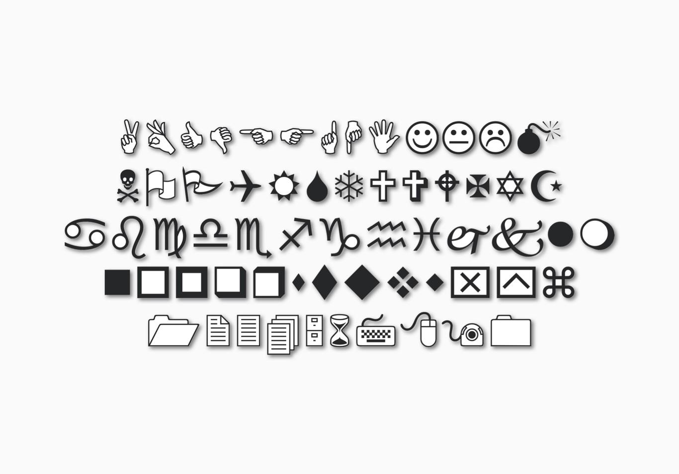 En los años 90 Microsoft tenía sus propios emojis: así surgió la tipografía Wingdings