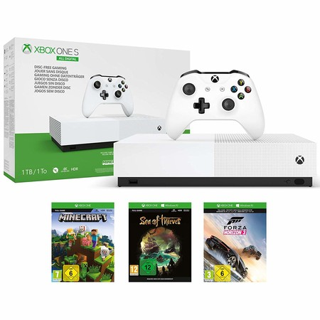 Prime Day 2019: la consola Microsoft Xbox One S All Digital está rebajada a 169,90 euros