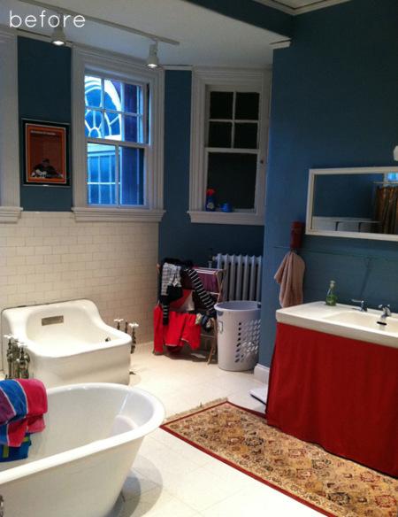 Antes y después: un baño que abraza la sobriedad del gris