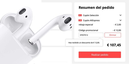Airpods Cupon