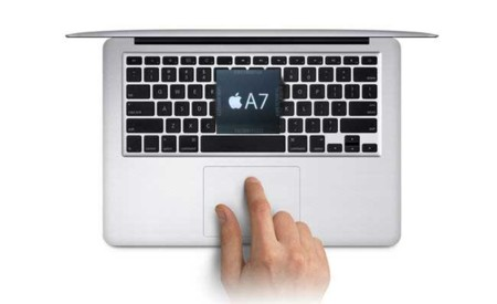 MacBook Air con Apple A7