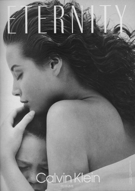 Christy Turlington Calvin Klein Eternity