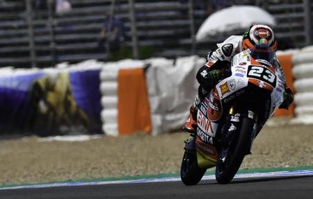 Niccolò Antonelli se lleva el mejor tiempo de Moto3 del viernes en Le Mans