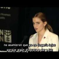 Emma Watson ovacionada en la ONU por un inspirador discurso feminista