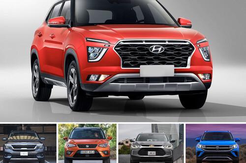 Hyundai Creta 2021 vs. 4 rivales en México: cada versión contra un competidor... incluyendo al Volkswagen Taos