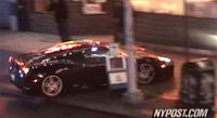 "Toma falsa de ""El aprendiz de brujo"" con accidente de Ferrari F430 incluido"
