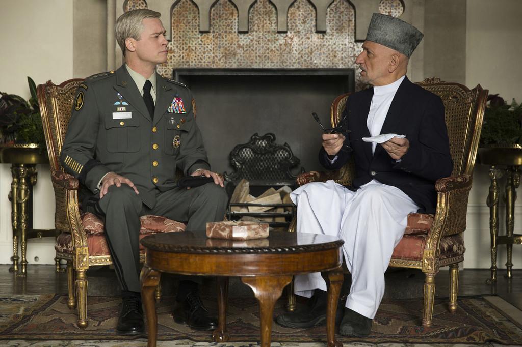 Brad Pitt Ben Kingsley Maquina De Guerra