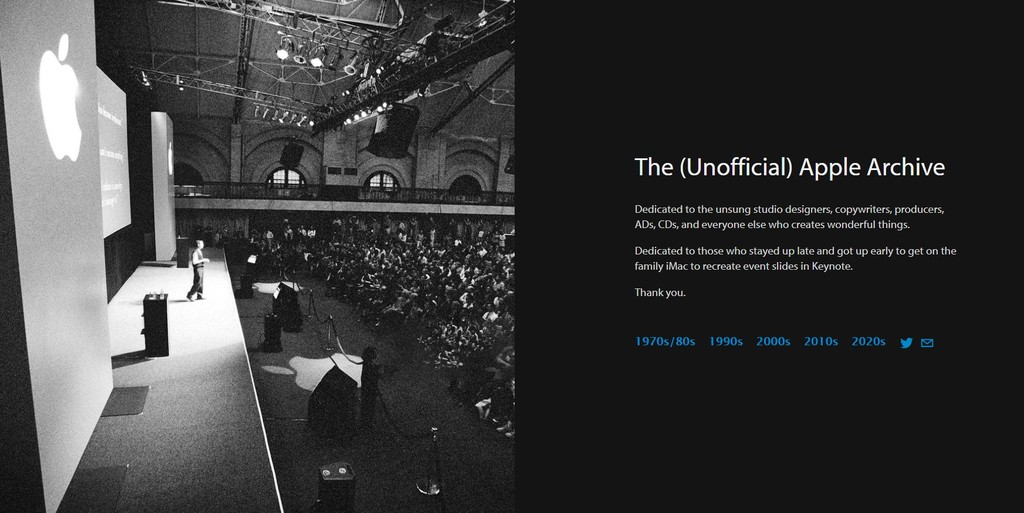 The (Unofficial) Apple Archive recoge toda la historia de Apple desde los años 70 hasta nuestros días
