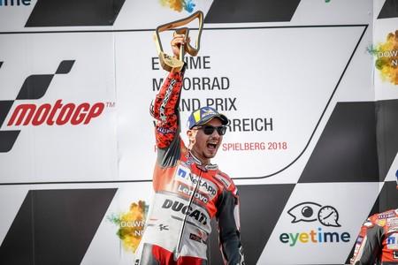 Lorenzo Austria Motogp 2018