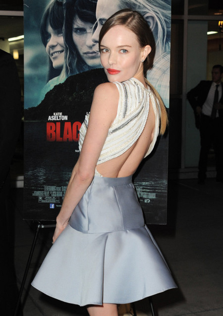 espalda Kate Bosworth Prada look fiesta