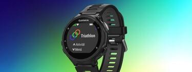 Garmin Forerunner 735XT rebajadísimo en Amazon: un reloj GPS multideporte para registrar incluso triatlón por 169 euros
