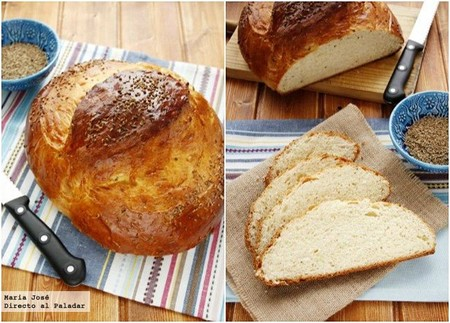 Pan de yema oaxaqueño. Receta mexicana