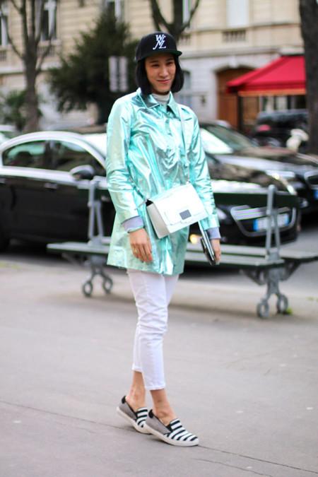 Street Style Semana de la moda de Paris
