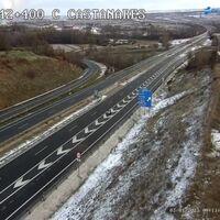El temporal de nieve obliga a cortar 119 carreteras secundarias y en otras 51 es necesario el uso de cadenas