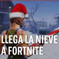 Una gran nevada se acerca a Fortnite