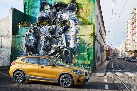 BMW X2 2018 lateral