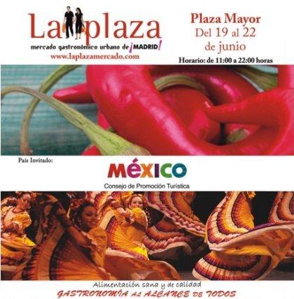México en la Plaza Mayor de Madrid
