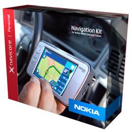 Kit de navegación GPS y Orb MyCasting para el Nokia N800