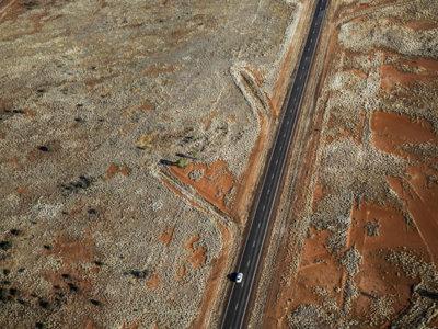 ¿Dónde están las carreteras más rectas del planeta?