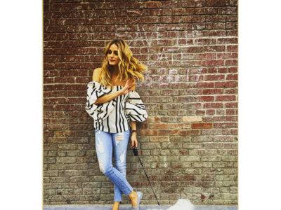 Olivia Palermo calza moda española: una firma gallega se cuela en su armario
