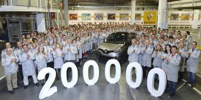 El Renault Captur 200.000 sale de Valladolid