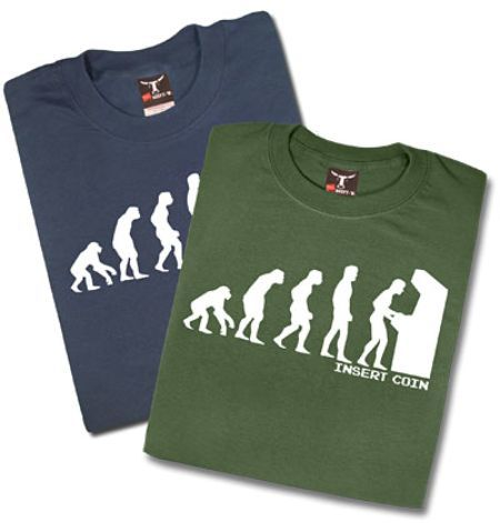 Camiseta The Evolution of Man