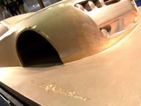 El Alfa Brera quedó preso en carbonita