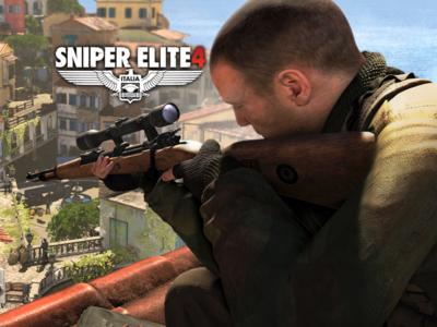 Italia en la Segunda Guerra Mundial, ese es el escenario para Sniper Elite 4, anunciado para PS4, Xbox One y PC