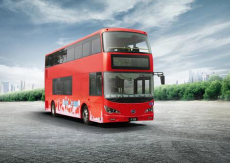 Los autobuses de dos pisos de Londres piensan en verde: cambiarán combustible por baterías