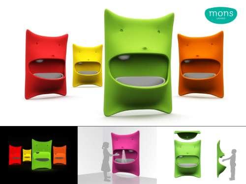 lavabos infantiles mons. Black Bedroom Furniture Sets. Home Design Ideas