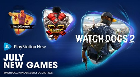 Watch Dogs 2, Street Fighter V y Hello Neighbor son los juegos que se unen a PlayStation Now en julio