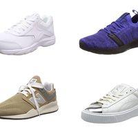 Chollos en tallas sueltas de zapatillas Puma, New Balance o Reebok a la venta en Amazon