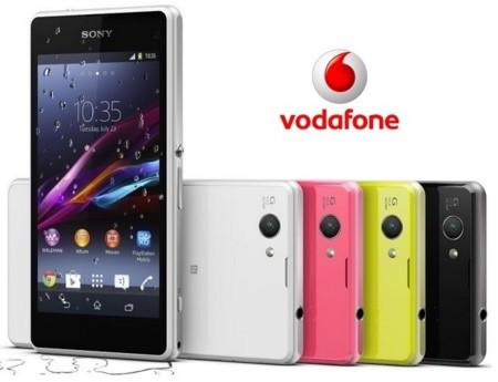 Precios Sony Xperia Z1 Compact con Vodafone y comparativa con Movistar, Orange, Yoigo y Amena