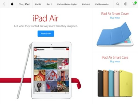 Apple lanza la aplicación oficial de las Apple Store para iPad