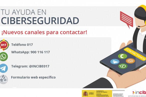 Resuelve tus dudas de ciberseguridad a través del móvil: estas son todas las vías de contacto con el INCIBE