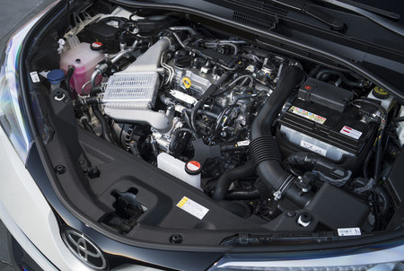 Motor híbrido del Toyota CH-R