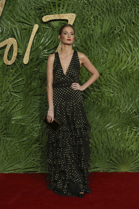 british fashion awards alfombra roja Millie Mackintosh