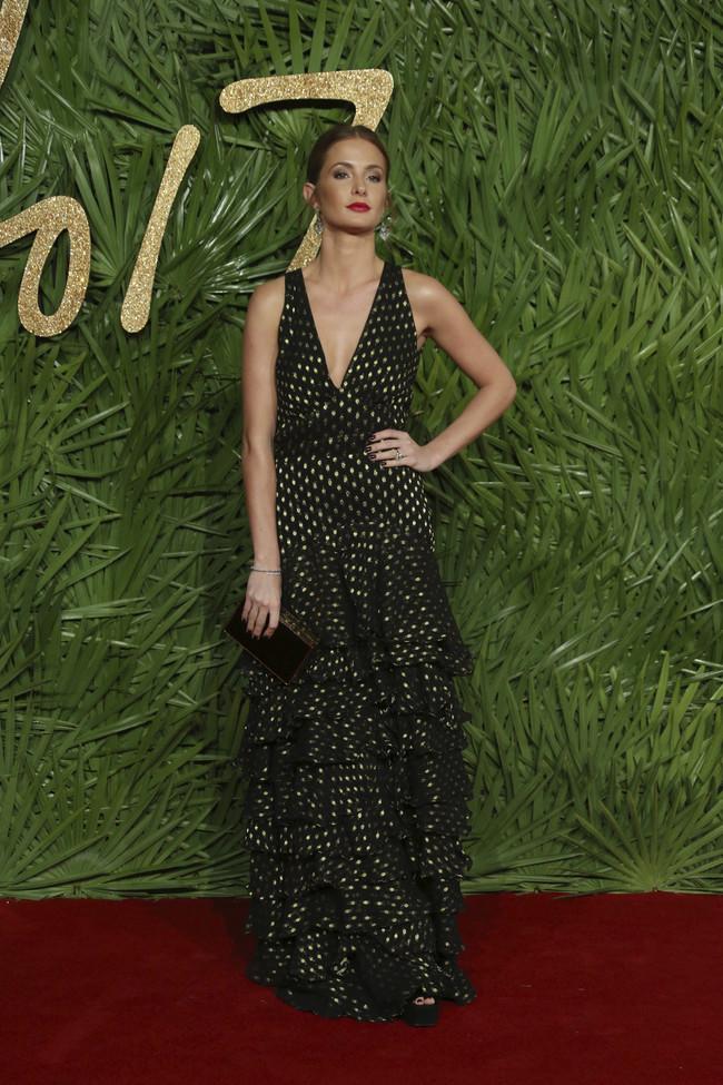british fashion awards alfombra roja Millie Mackintosh