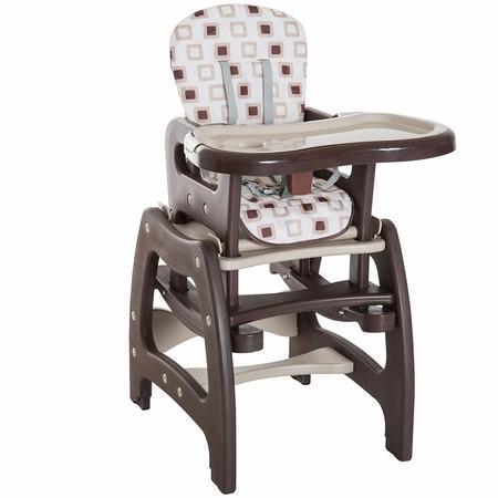 Oferta de Amazon en la trona para bebé tres en uno de Homcom