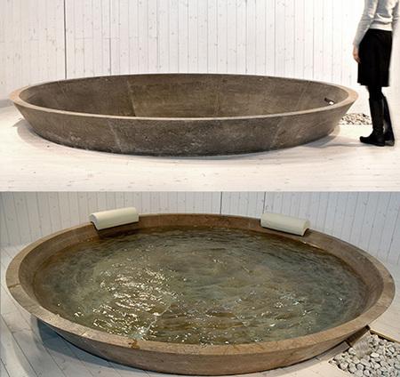 Piedra y amplitud para tu baño, de Vaselli