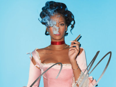 "Rihanna, una María Antonieta ""destroyed"" posando en portada de CR Fashion Book"