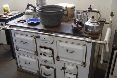 La historia del fuego en la cocina - cocina a gas y carbón