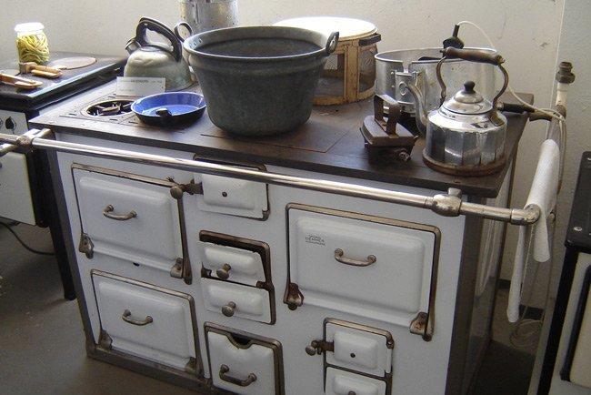 Xinia y peter el arte del buen vivir historia del fuego for Cocinas economicas a gas