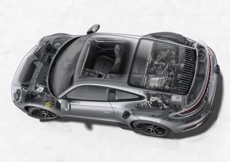 Porsche 911 Turbo esquema