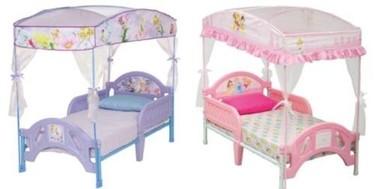 Para niñas, camas con dosel