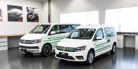 Volkswagen e-Caddy y e-Transporter, Abt tunea dos modelos de carga cien por ciento ecológicos