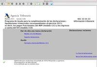 Programa Módulos 2011: disponible en la web de la AEAT
